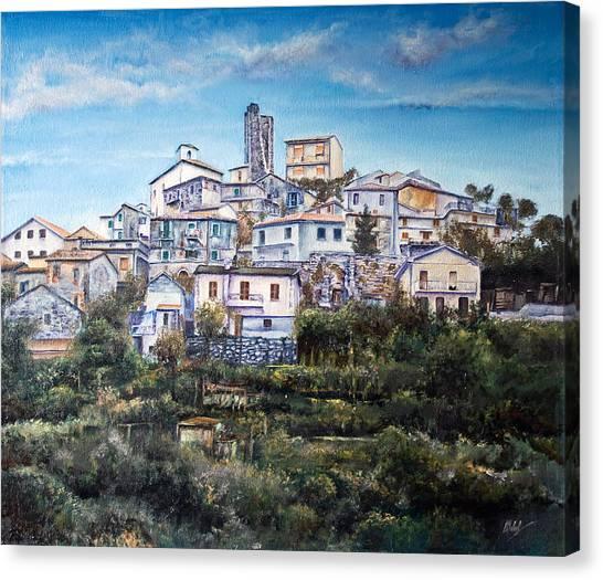 Castello Canvas Print