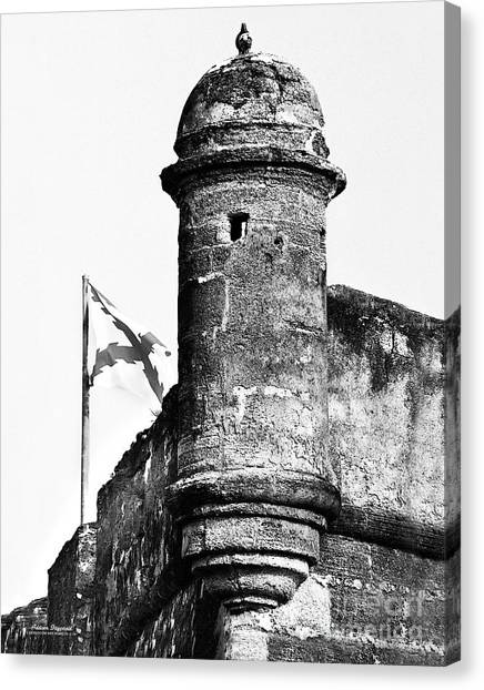 Castillo Lookout Canvas Print by Addison Fitzgerald