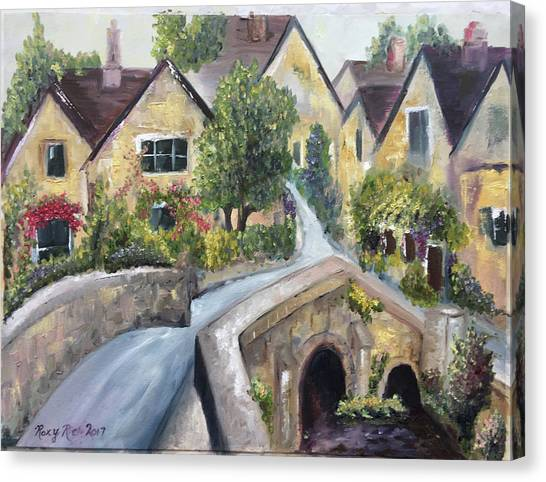 Canvas Print - Castle Combe by Roxy Rich