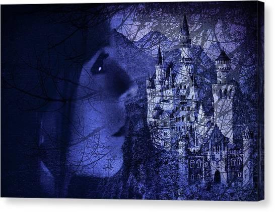 Final Fantasy Canvas Print - Castle Fantasy by Agustin Uzarraga
