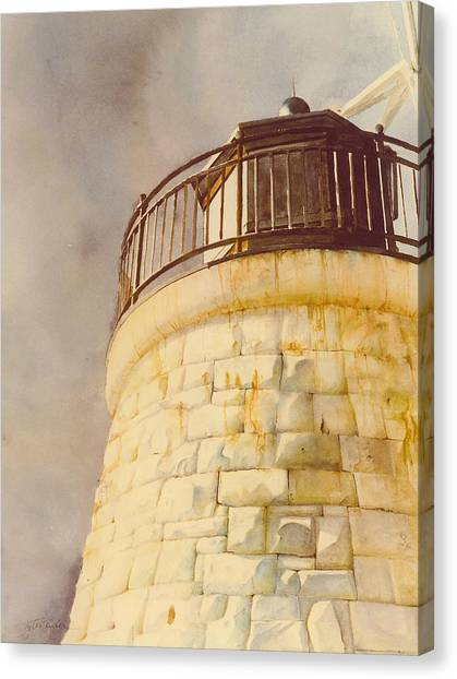 Castle Hill Light Canvas Print
