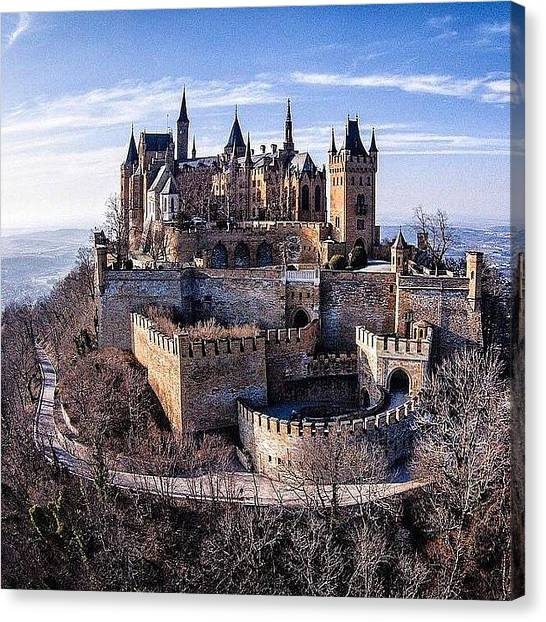 Star Wars Canvas Print - Castle Hohenzollern  by Andy Bucaille