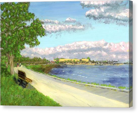 Castle Island - Summer Canvas Print