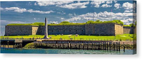 Castle Island Canvas Print