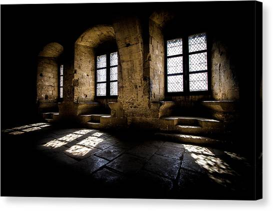 Canvas Print featuring the photograph Castle Light by Jason Smith