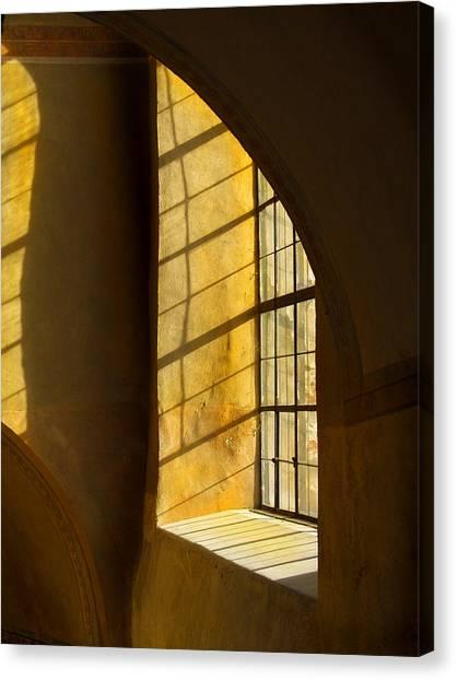 Castle Light Canvas Print
