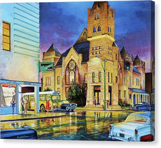 Castle Of Imagination Canvas Print