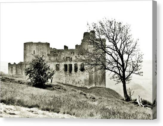 Castle On High Canvas Print