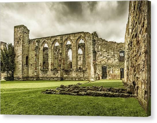 Castle Ruins Canvas Print