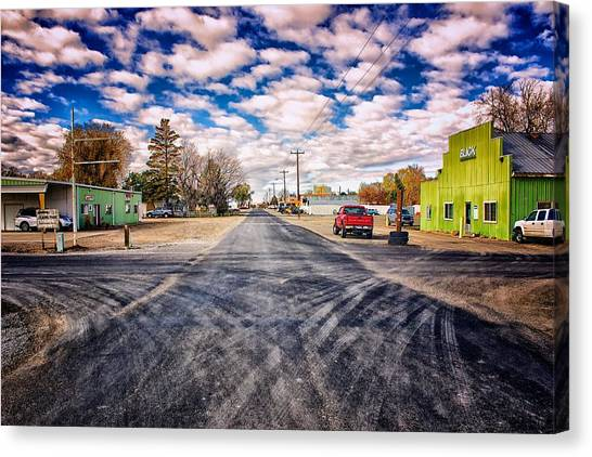 Castleford Idaho Canvas Print