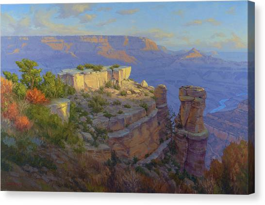 Canyon Canvas Print - Castles In The Sky by Cody DeLong