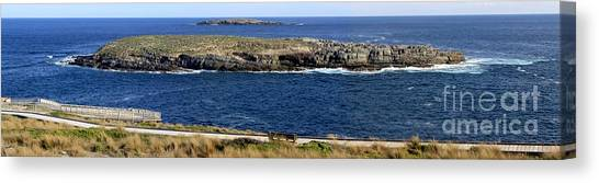 Canvas Print featuring the photograph Casuarina Islets by Stephen Mitchell