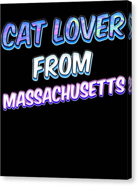 Ocicats Canvas Print - Cat Lover From Massachusetts by Kaylin Watchorn
