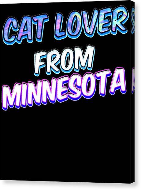 Ocicats Canvas Print - Cat Lover From Minnesota 2 by Kaylin Watchorn