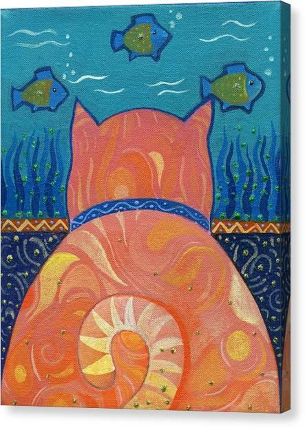 Cat Tales Canvas Print