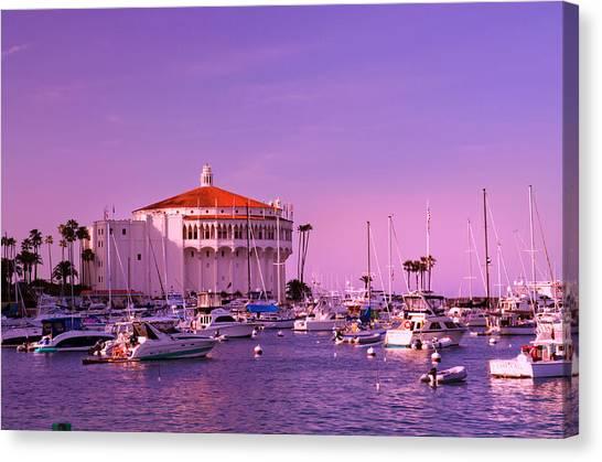 Catalina Casino Canvas Print
