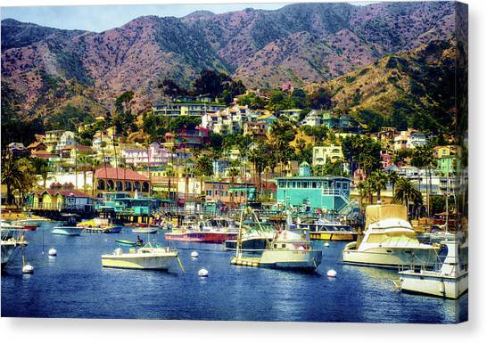 Catalina Express  View Canvas Print