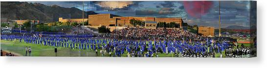 Catalina Foothills High School Graduation 2016 Canvas Print
