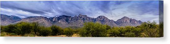 Catalina Mountains P1 Canvas Print