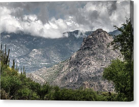 Catalina Mountains Canvas Print