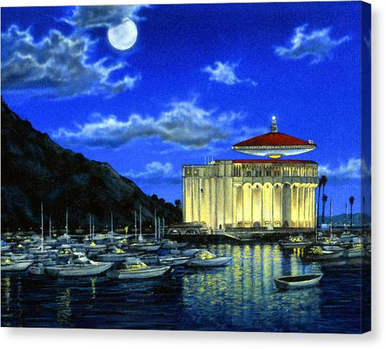 Ufos Canvas Print - Catalina Ufo by Snake Jagger