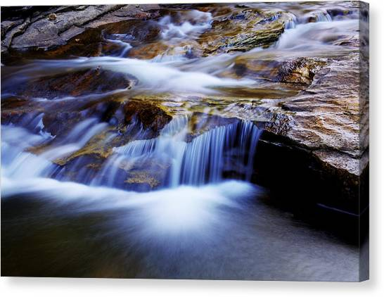 Red Rock Canvas Print - Cataract Falls by Chad Dutson