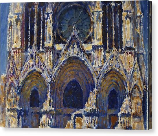 Mavlo Canvas Print - Cathedral 1 by Valeriy Mavlo