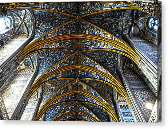 Cathedral Albi Canvas Print