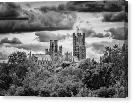 Canvas Print featuring the photograph Cathedral From The North-east by James Billings