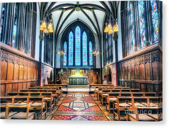 Cathedral Glow Canvas Print