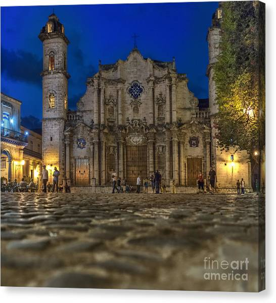 Cathedral Havana Canvas Print