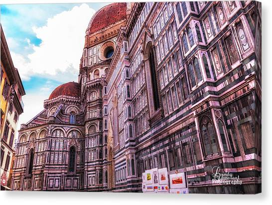 Cathedral In Rome Canvas Print