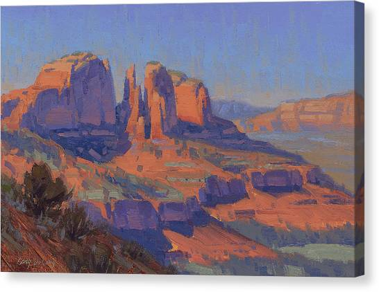 Red Rock Canvas Print - Cathedral In The Heat by Cody DeLong