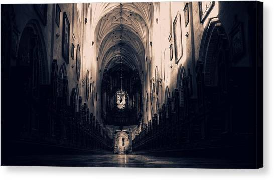 Vault Canvas Print - Cathedral by Jackie Russo