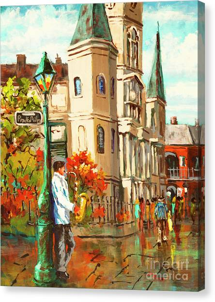 Cathedral Jazz Canvas Print