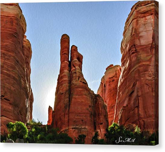 Cathedral Rock 05-155 Canvas Print