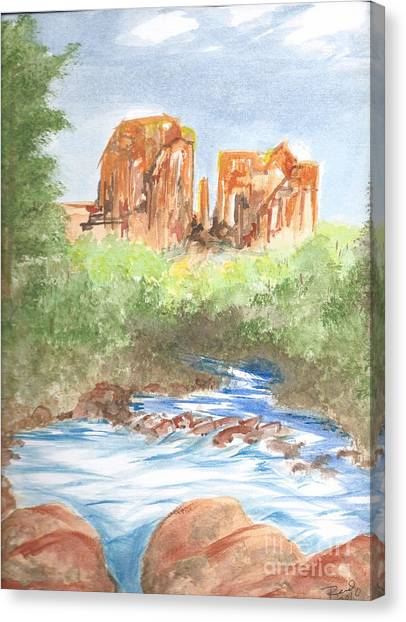 Cathedral Rock 2,  Sedona, Az. Canvas Print