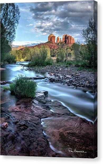 Cathedral Rock And Oak Creek 3381 Canvas Print