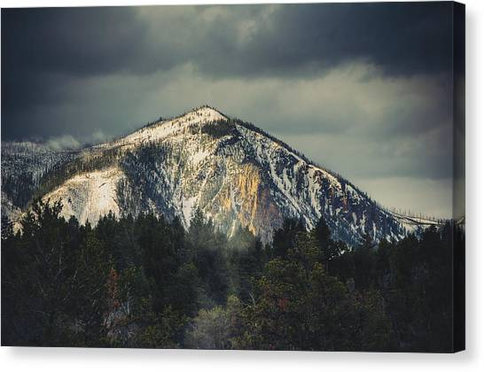 Canvas Print featuring the photograph Cathedral Rock by Christopher Meade