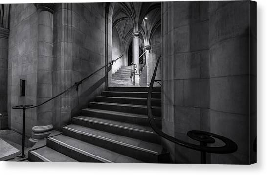 Cathedral Stairwell Canvas Print