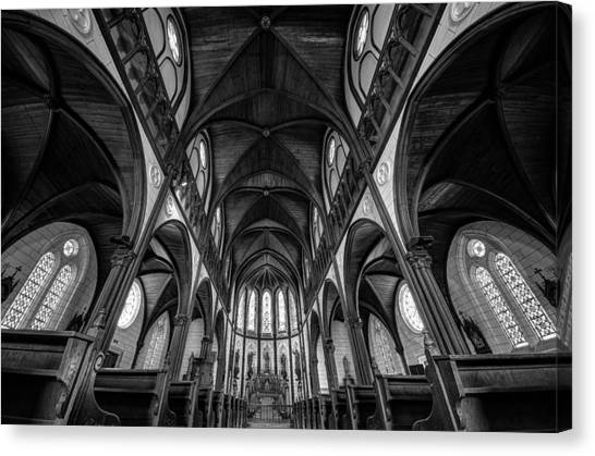 Church Canvas Print - Cathedral by Tomoshi Hara