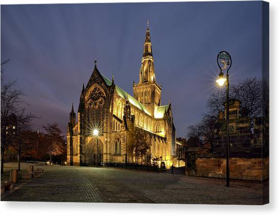 Cathedral Twilight Canvas Print