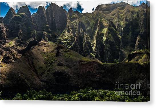 Cathedrals Na Pali Coast #2 Canvas Print