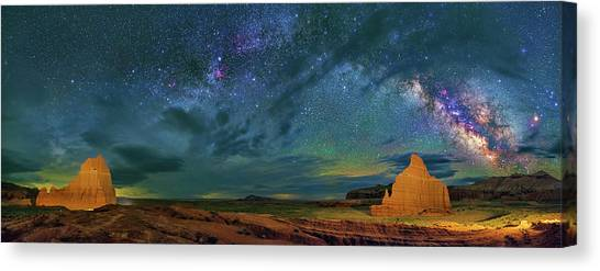 Cathedrals Canvas Print