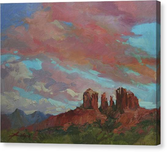 Catherdral Canopy Canvas Print