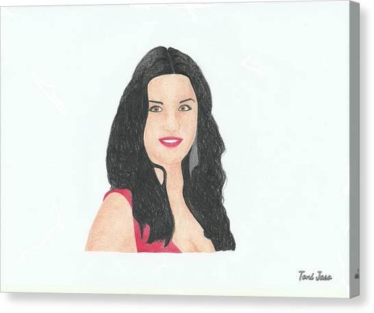 Catherine Zeta Jones Canvas Print