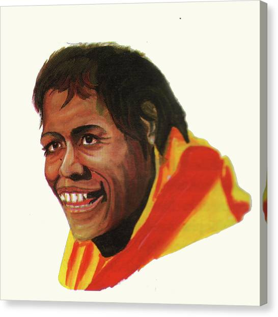 Cathy Freeman Canvas Print