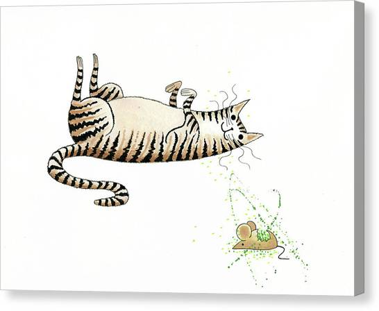 Mice Canvas Print - Catnipped  by Andrew Hitchen