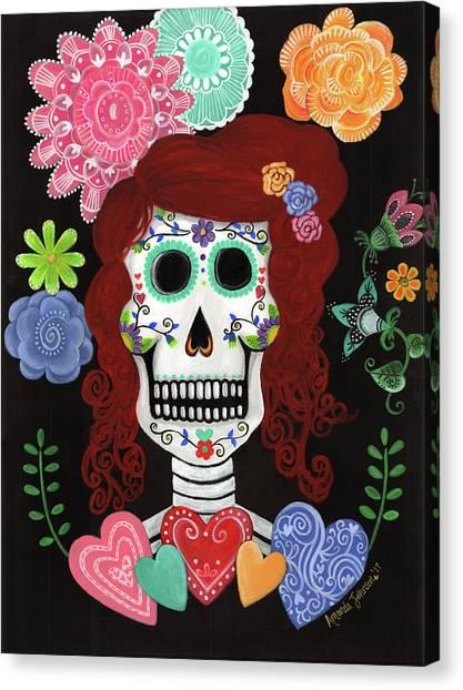 Catrina's Garden Canvas Print