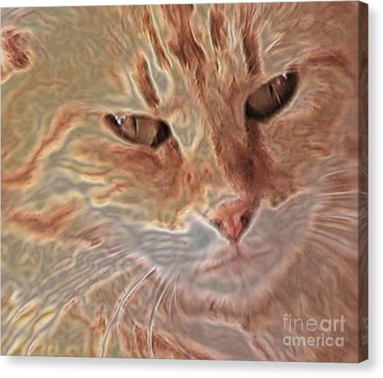 Canvas Print - Cats Know by Uldra Johnson